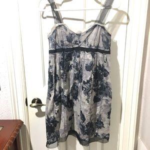 Loft empire waist sleeveless mini-dress